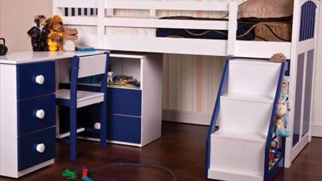 cabin bed blue (1)